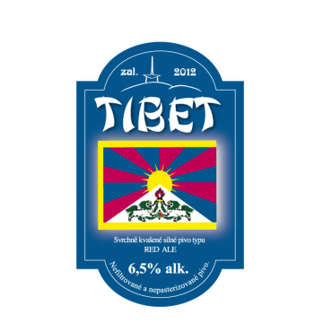 Tibet RED ALE 1l PET