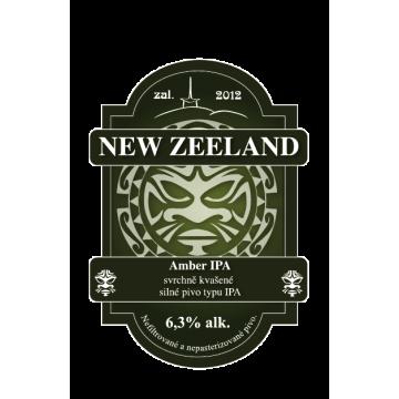 New Zeeland Amber IPA 1,5 l...